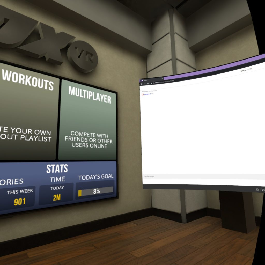 Streaming in VR