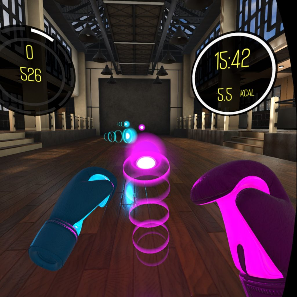 Boxing in VR
