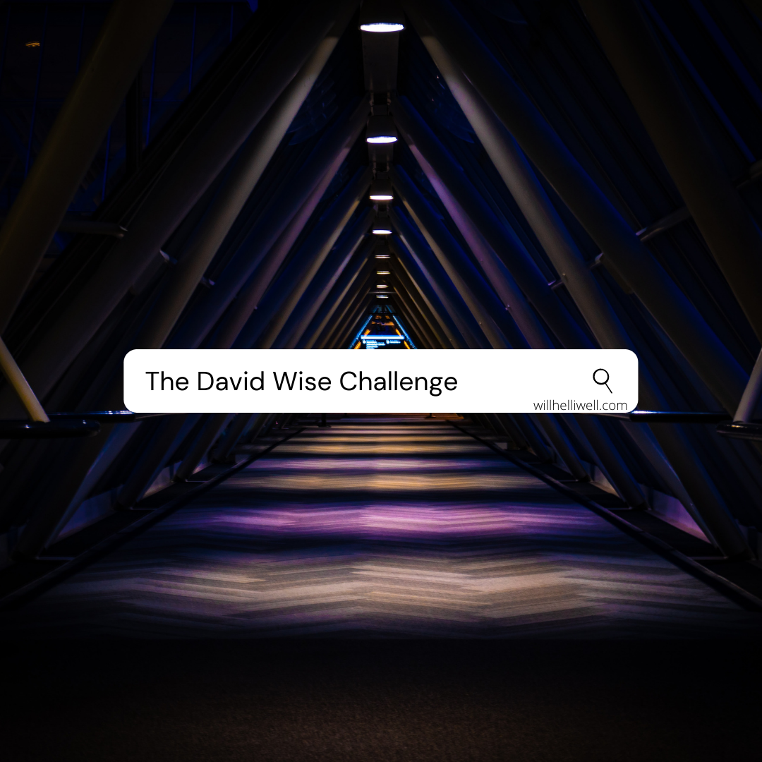 David Wise Challenge Cover