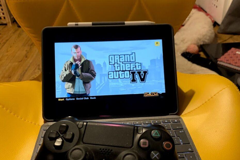 GTA IV on an iPad